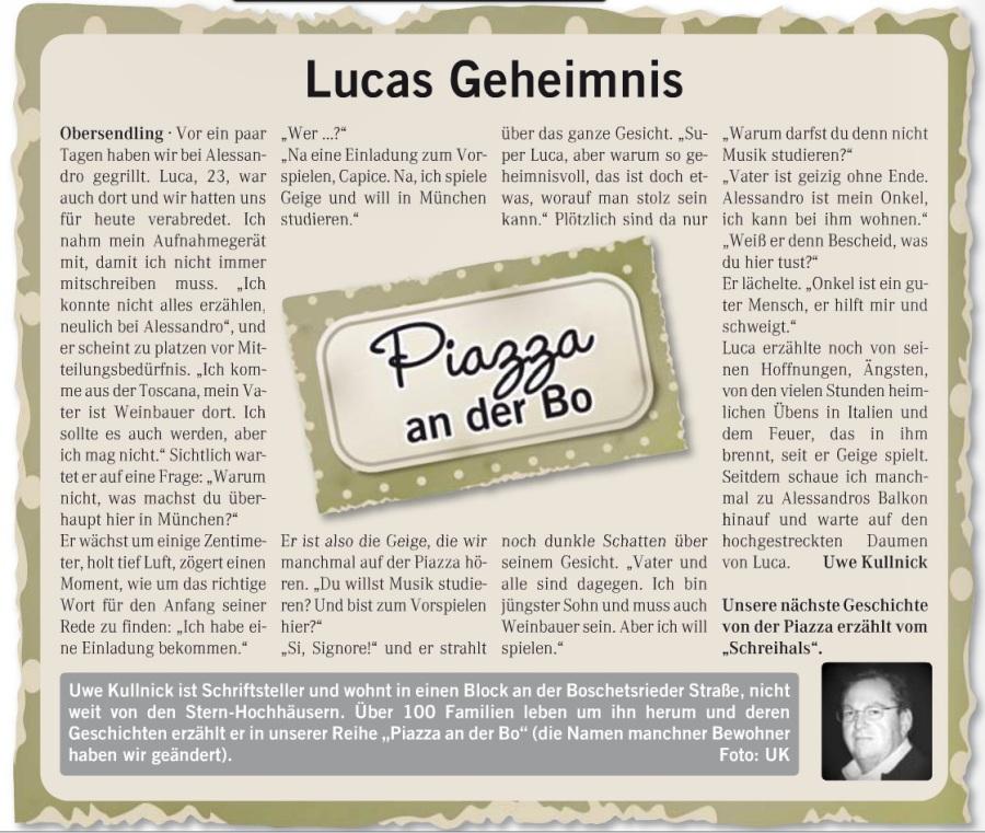 12 Lucas Geheimnis